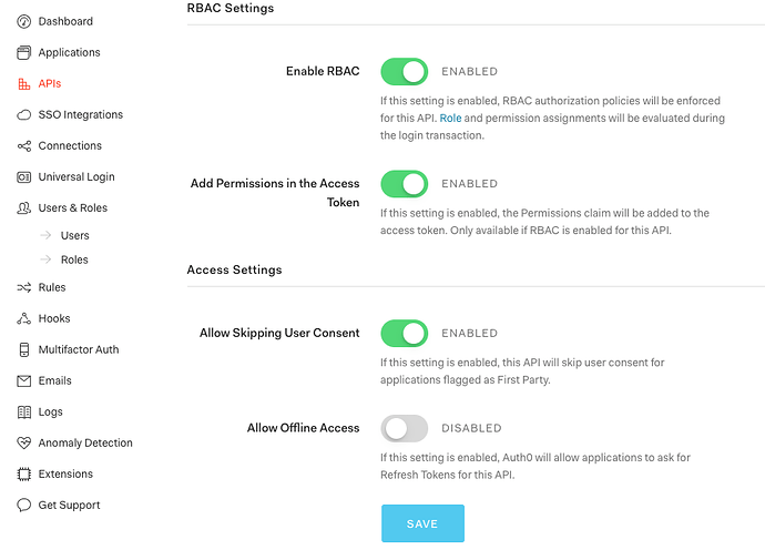 Laravel API  How to check permissions - Auth0 Community