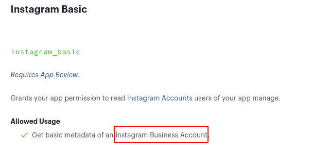 Instagram login is deprecated and the documentation on Auth0