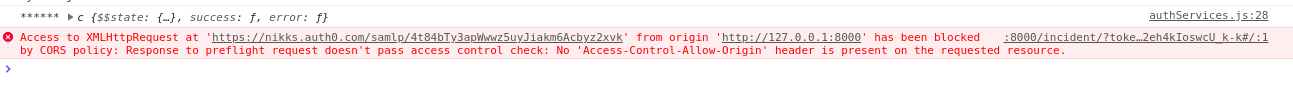 CORS Origins not working properly - Auth0 Community